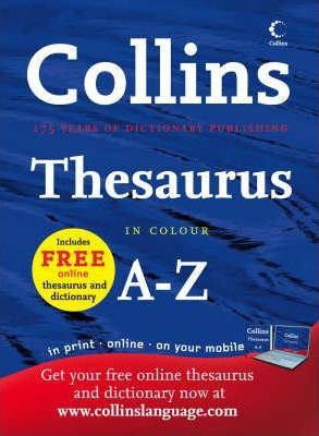 Collins Thesaurus A-Z