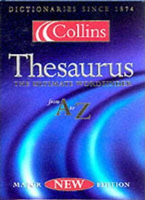 The Collins Thesaurus: Thumb-indexed