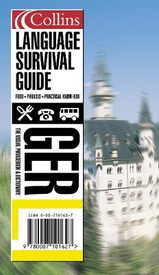 Collins German Language Survival Guide CD Pack