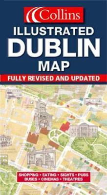 Illustrated Dublin Map
