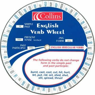 Collins English Verb Wheel: Pack of 30