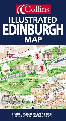 Illustrated Edinburgh Map