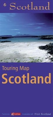 STB Touring Map Scotland