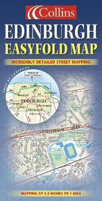 Edinburgh Easyfold Map
