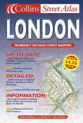 Collins London Street Atlas 2001