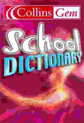 School Dictionary: Pink Cover