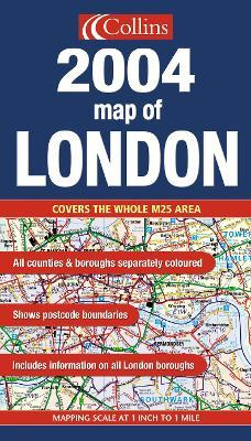 Map of London 2004