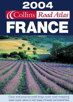 Collins Road Atlas 2004: France