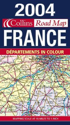 Map of France 2004