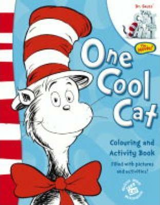 One Cool Cat Colouring and Activity Book