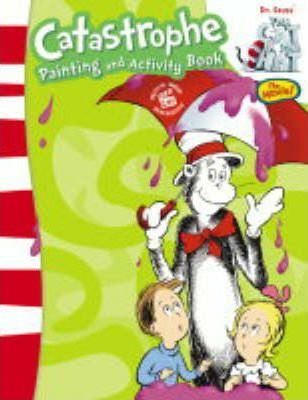 """Dr.Seuss' """"The Cat in the Hat"""": Catastrophe Paint Box Book"""