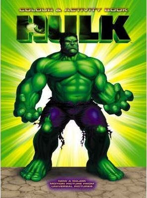 The Hulk: Colouring and Activity Book
