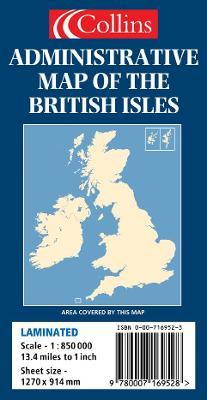 Administrative Map of the British Isles