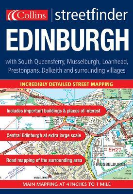 Edinburgh Colour Streetfinder Atlas