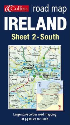Road Map Ireland: South Sheet 2