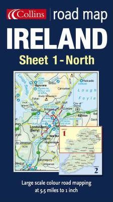 Road Map Ireland: North Sheet 1