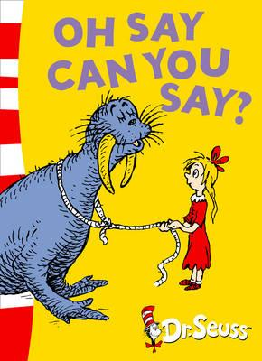Oh Say Can You Say?: Oh Say Can You Say?: Green Back Book
