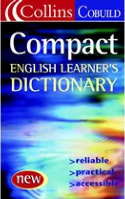 collins cobuild compact english learner s dictionary collins