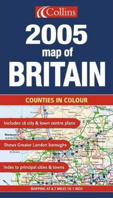Map of Britain 2005