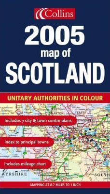 Map of Scotland 2005