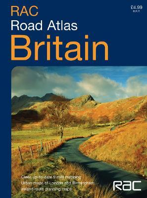 RAC Compact Britain Road Atlas