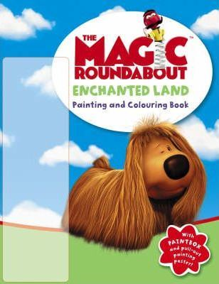 Enchanted Land: Painting and Colouring Book