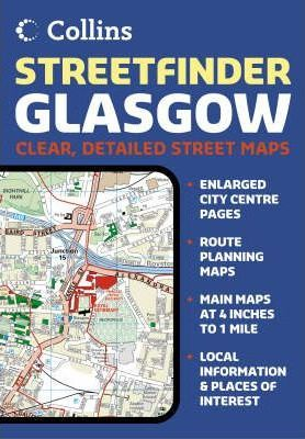 Glasgow Streetfinder Colour Atlas