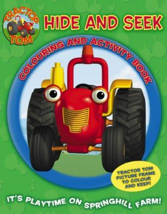 Hide and Seek Colouring and Activity Book: Colouring and Activity Book