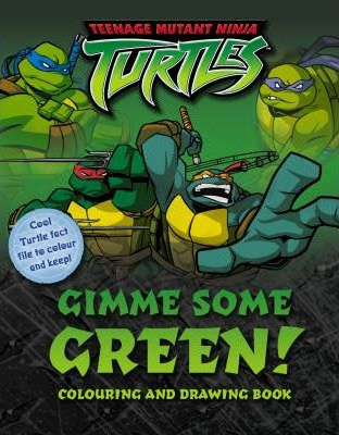 Gimme Some Green!: Colouring and Drawing Book