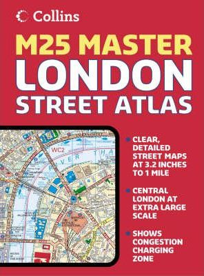 London M25 Master Street Atlas