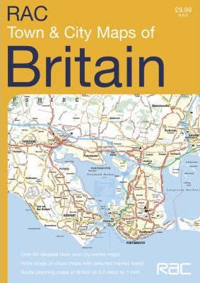 RAC Town and City Maps Britain