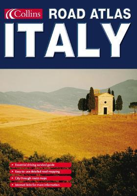 Collins Road Atlas Italy
