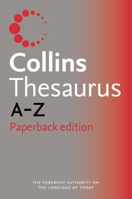 Collins Paperback Thesaurus A-Z