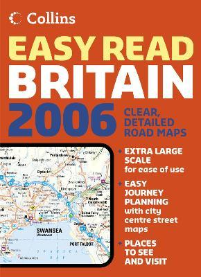 Collins Easy Read Road Atlas Britain 2006