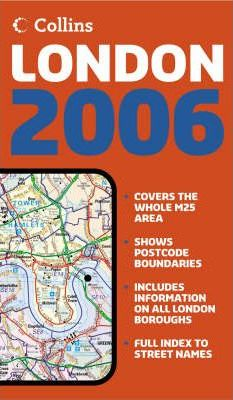 Map of London 2006 : 9780007200030
