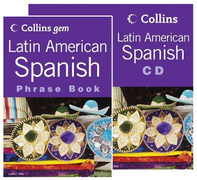 Latin American Spanish Phrase Book CD Pack