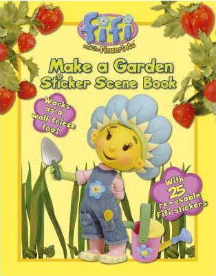 Make a Garden: Sticker Scene Book
