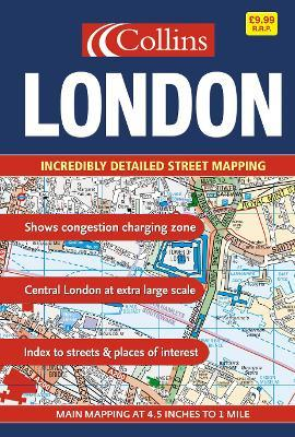 London Street Atlas: Maxi Scale