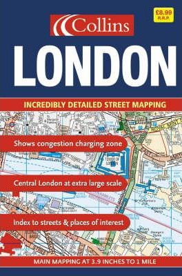 London Street Atlas: Large Spiral