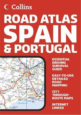 Collins Road Atlas Spain and Portugal