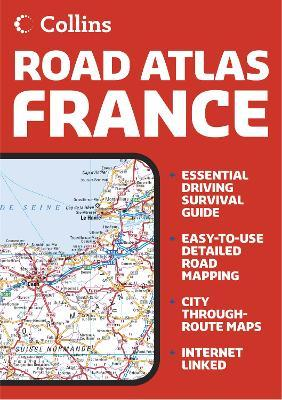Collins Road Atlas France