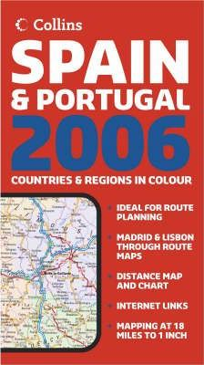 Map of Spain and Portugal 2006