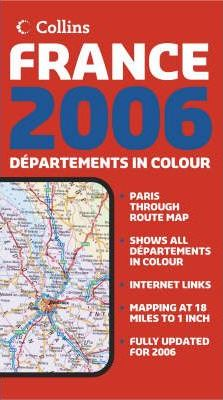 Map of France 2006