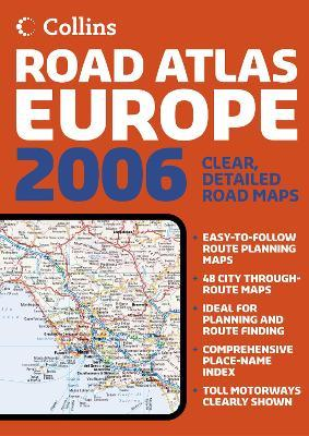Collins Road Atlas Europe 2006