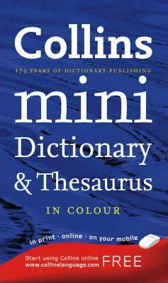 Collins Mini Dictionary and Thesaurus
