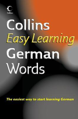 Collins Easy Learning German Words