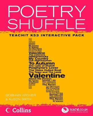 Poetry Shuffle Pack KS3: Site Licence
