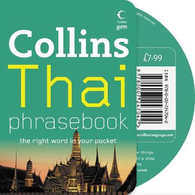 Thai Phrasebook and CD Pack