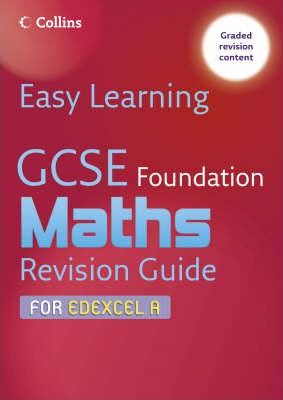 GCSE Maths Revision Guide for Edexcel A