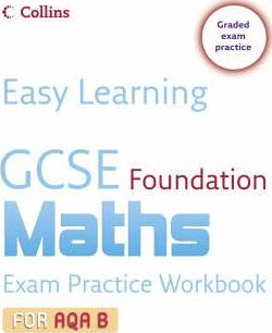 GCSE Maths Exam Practice Workbook for AQA B